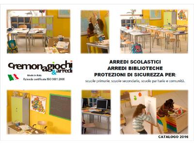 Scarica i cataloghi for Arredi scolastici